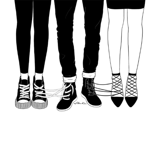Love triangule - by Henn Kim