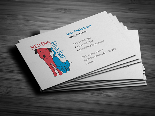 Red dog deli business cards on behance top manufacturers of high quality raw food for dogs and cats their mission is to provide discerning pet owners with the information and tools necessary reheart Images