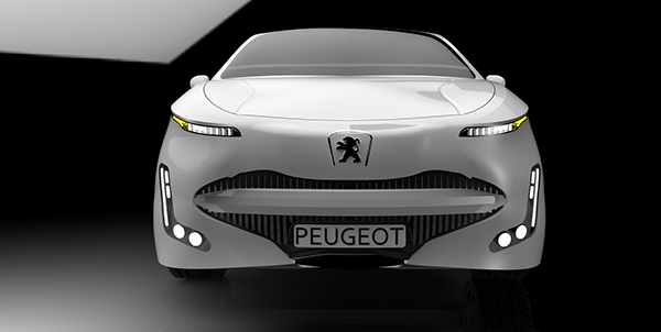 Peugeot 808 (re-design) On Behance