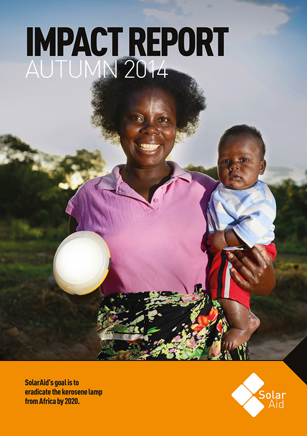 SolarAid solar power africa Zambia Tanzania malawi kenya Uganda Aid NGO report a4