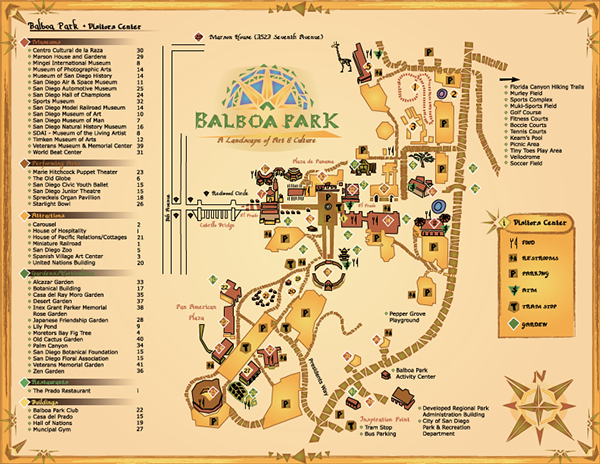 Balboa Map on Behance