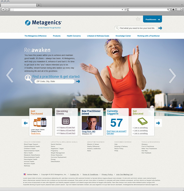 nutrition nutraceutical Website Ecommerce Health supplements vitamins minerals