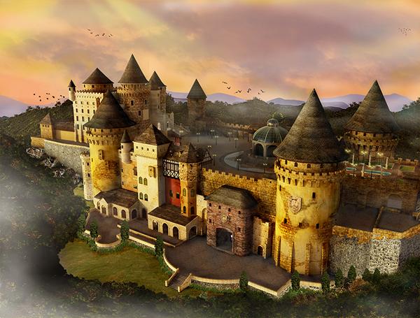 Ba Na Hills Fantasy Park On Behance