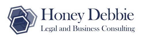 Honey Debbie Legal and Business consultants Logo Design Business Cards Web