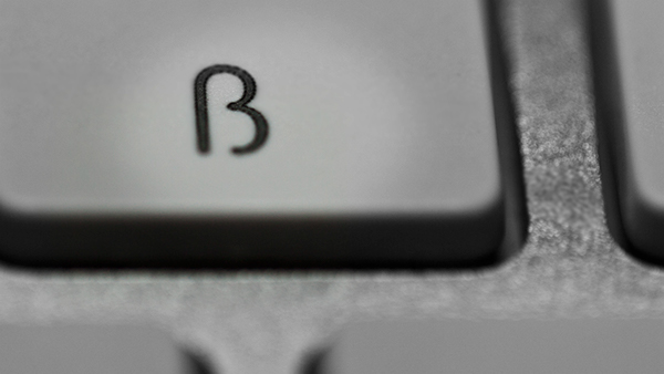question point keyboard metal brushed monochrome sharp s key questionmark