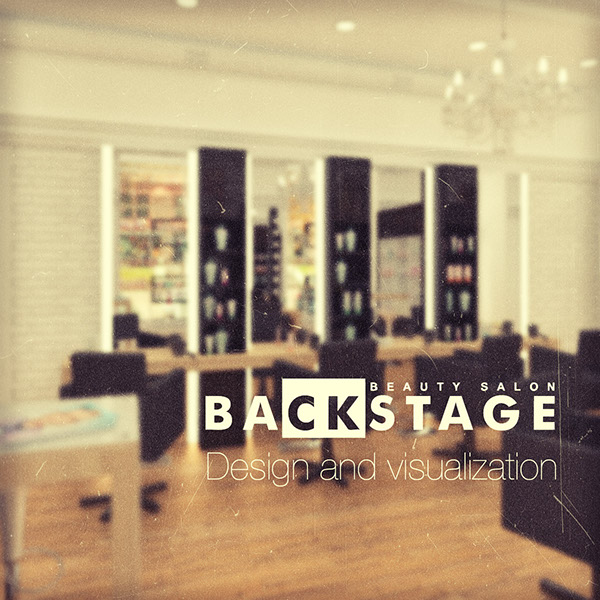 backstage beauty salon design and visualization on adweek