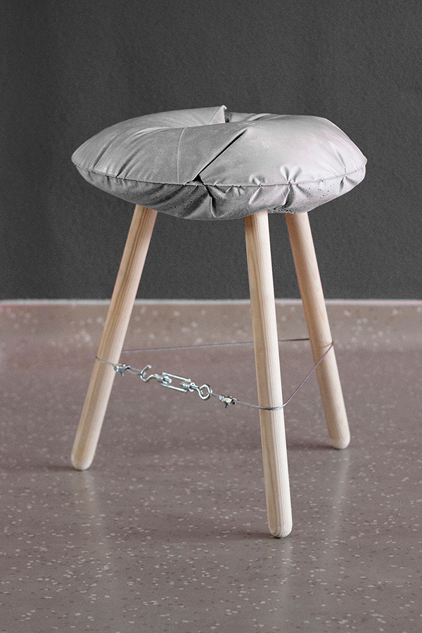 Concrete Stool Casting Experiment On Behance