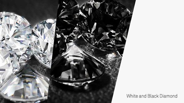 bc business card brand identity diamond  black federico landini i depend on me idom logo Layout print