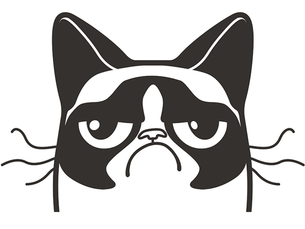 Grumpy Cat Logo On Behance