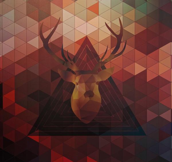 orlando vector Polygons symmetry abstract color