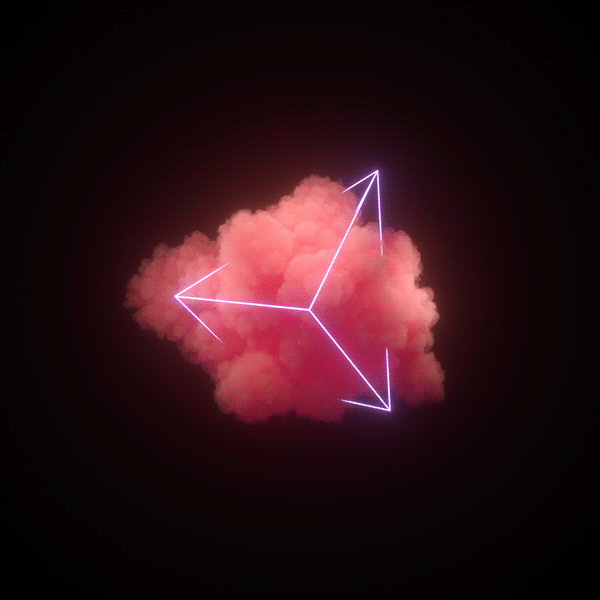 cloudy neon