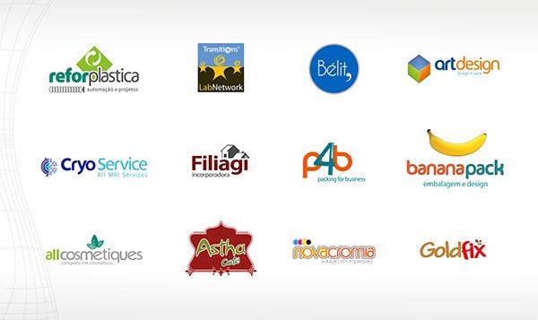 identidade visual marcas Logotipo campanhas