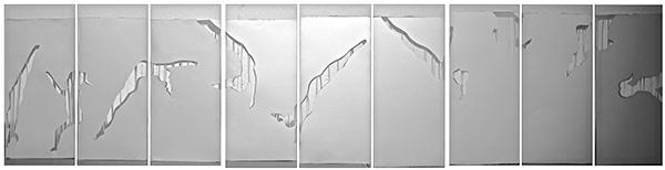 gymnastics Space  paper movement 3D risd
