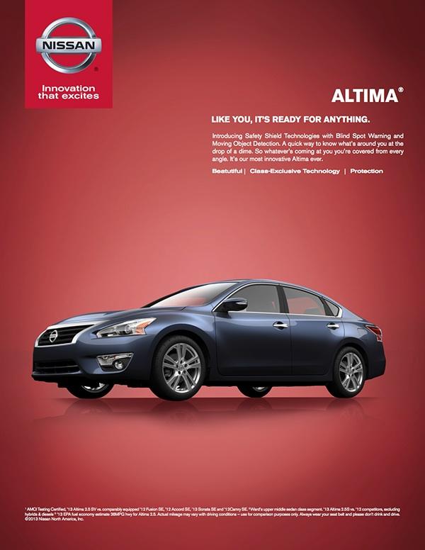 Nissan Magazine Advertisement On Behance