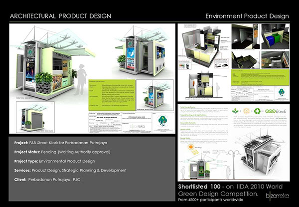 Architectural Product Design Street Kiosk Ecokiosk On