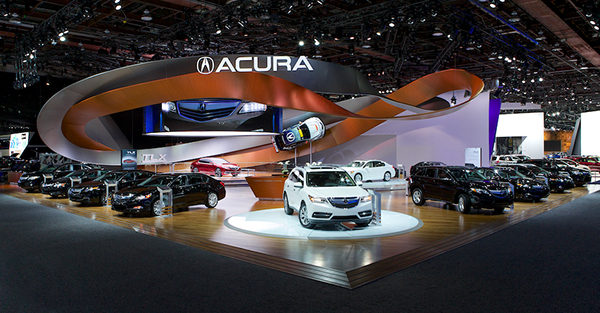 Car Expo Standsay : Acura detroit auto show on the art institutes