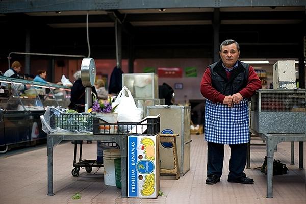 ancona market Fruit vegetables