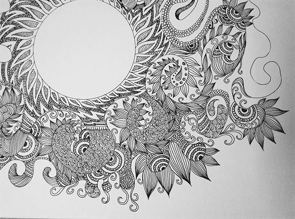 Scribble Drawing Meaning : Doodle mania on student show