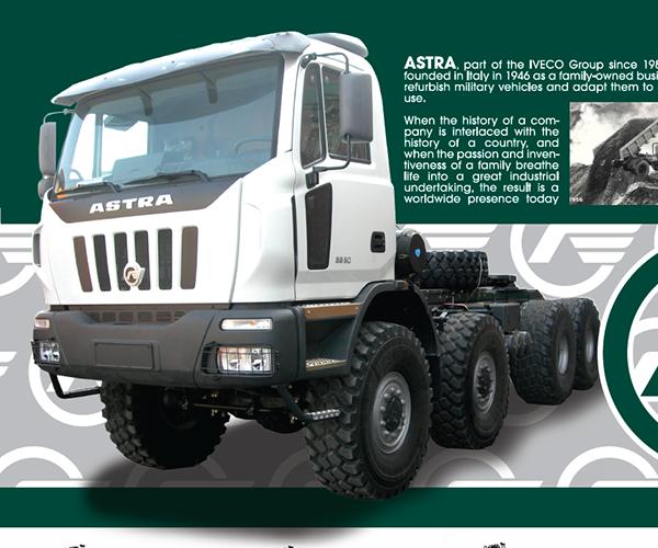 Astra Heavy Duty Trucks Brochure on Behance