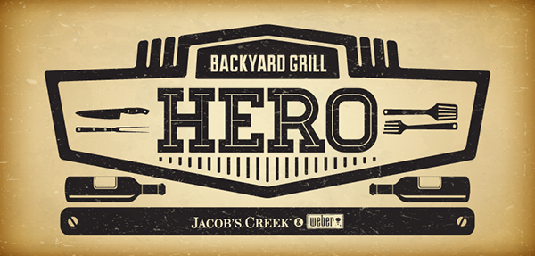 Promotion concept Jacobs Creek Weber contest
