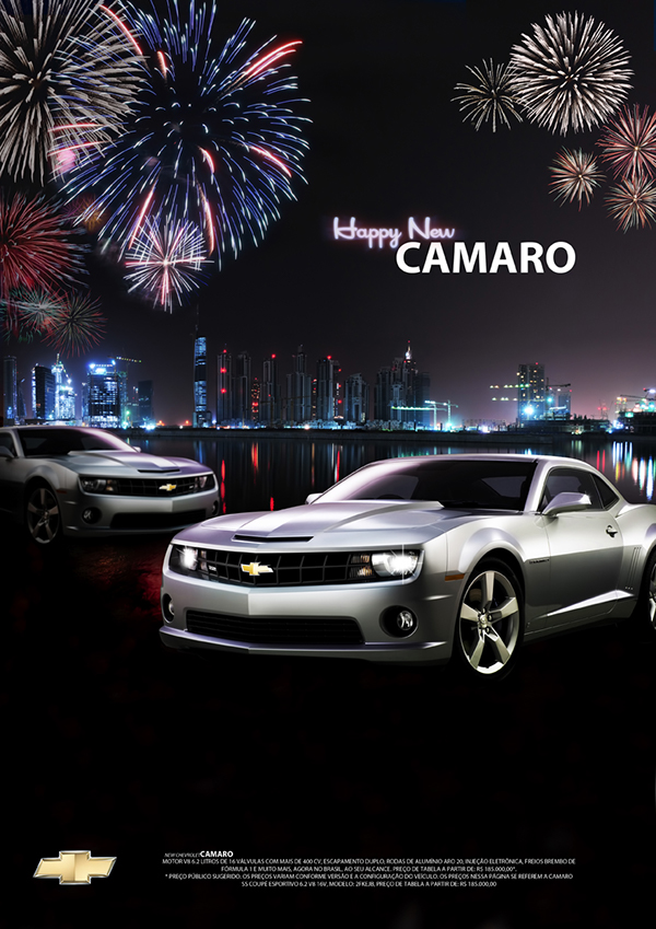 Happy New Camaro On Behance