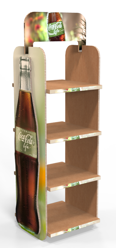 Exhibition Stand Design Sample : Coca cola life xboard display on behance