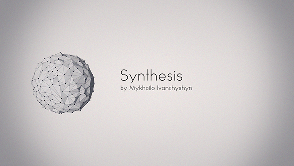 spheres fluid abstract 3D visual motion Space  dark ambient cinema 4d