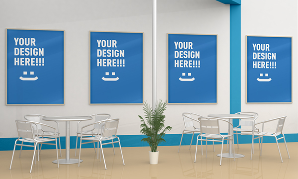 Exhibition Stall Mockup Psd : Exhibition stand design mockup on behance