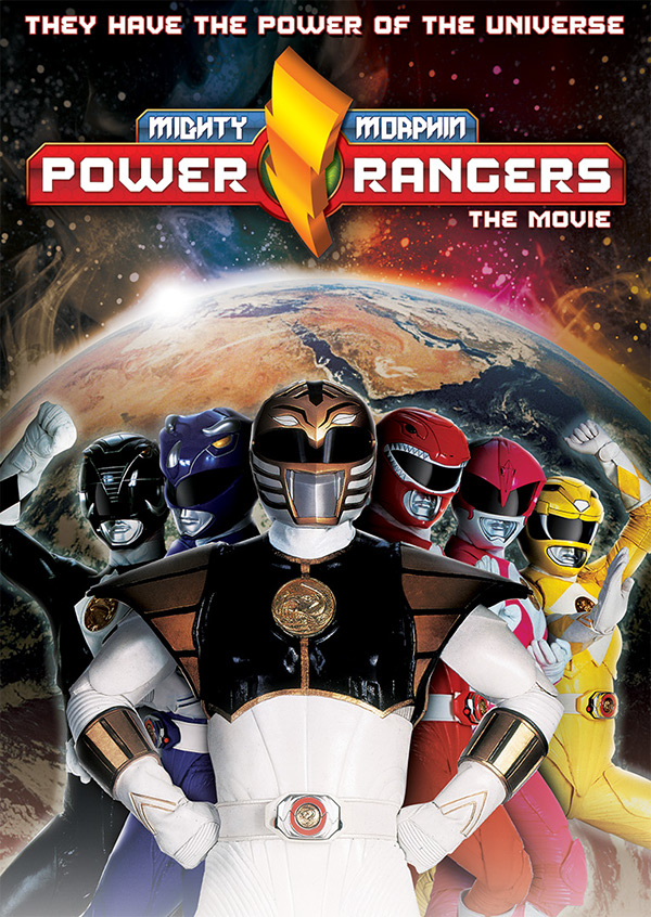 Honda North Hollywood >> Power Rangers The Movie DVD Key Art on Pantone Canvas Gallery