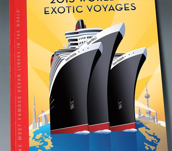 ocean liner posters on behance. Black Bedroom Furniture Sets. Home Design Ideas