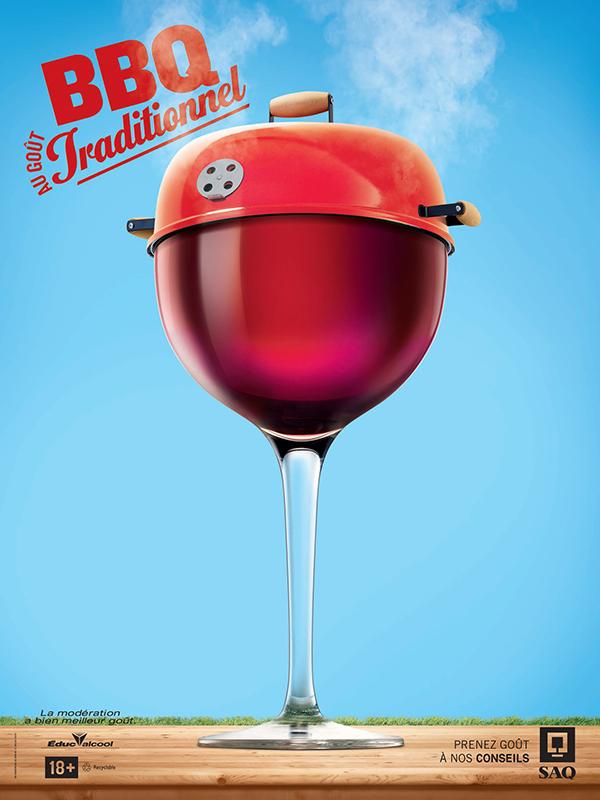 print imprimé Photographie publicité pub ad vin wine design