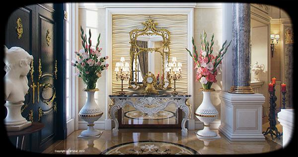 Luxury Villa Interior Qatar On Behance
