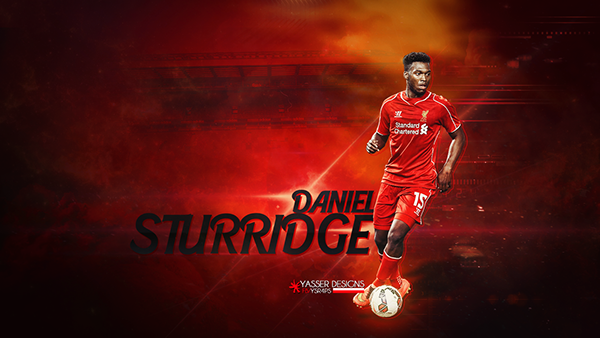 Daniel Sturridge Wallpaper On Behance