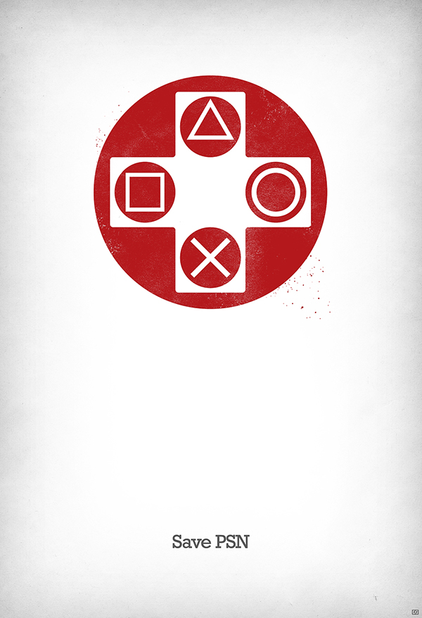 Save PlayStation Network on Behance