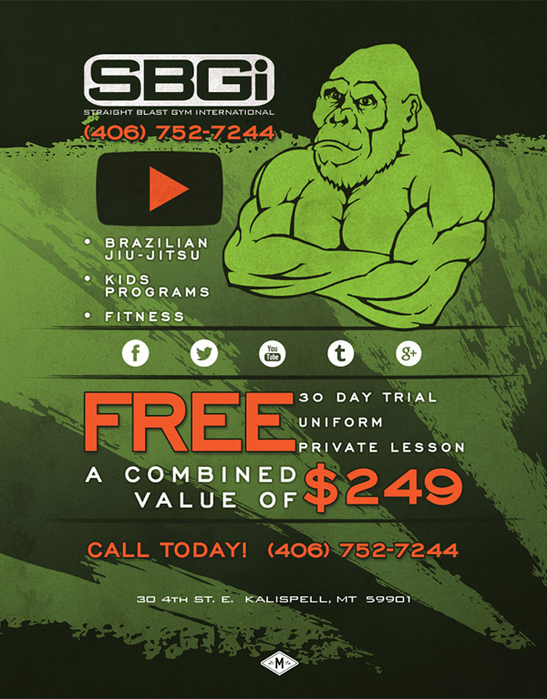 Splash page construction page Coming Soon Promotion Web graphic design gorilla monkey ape Crossfit gym fitness green orange
