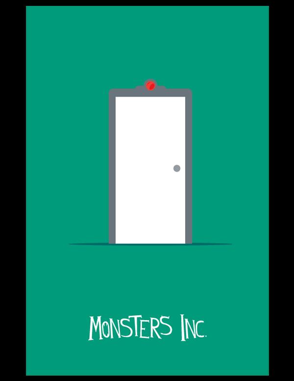 Pixar Minimalist Movie Posters On Behance