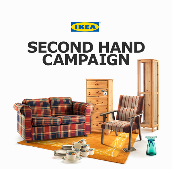 Ikea second hand campaign on behance for Second hand schlafsofa