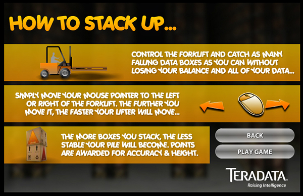 Teradata - How Do You Stack Up? on Behance
