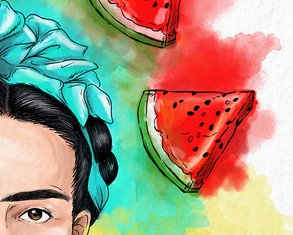 Ilustración I Frida Kahlo On Behance