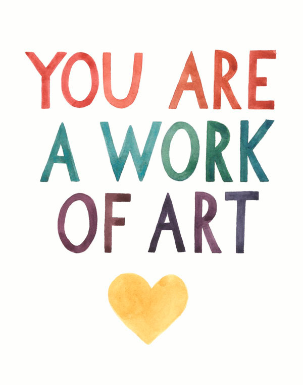 You Are a Work of Art, 2015