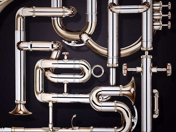 poster typo Adronauts ÖH-Fest vienna Patrick Pichler Wolfgang Warzilek music poster plakat typografie trompete instruments