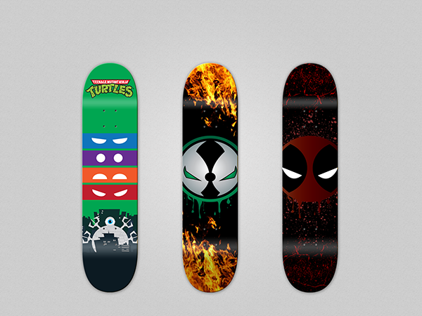 skateboard deck designs on behance
