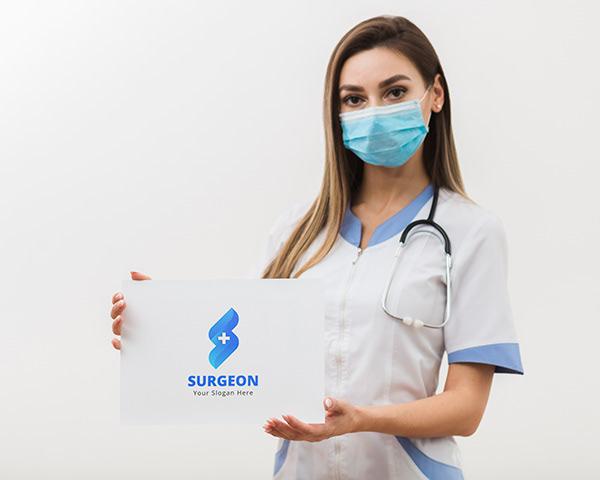 Letter S | Medical Logo Design