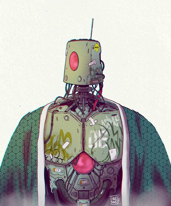 """Maintenance mode > ON / Please wait / 12564 seconds left"" illustration by Greg Dmnt (Grapheart)"