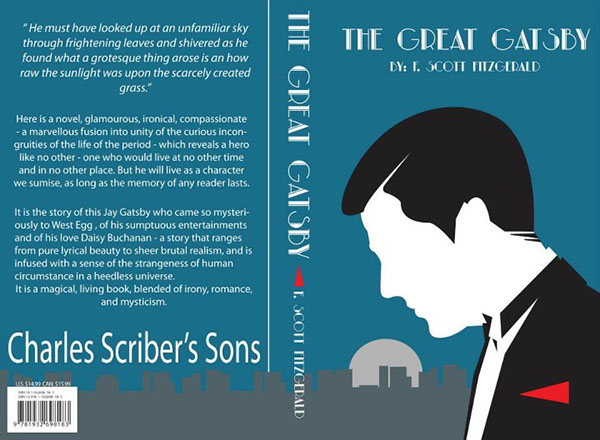 Great Gatsby Book Cover Ideas : The great gatsby on behance