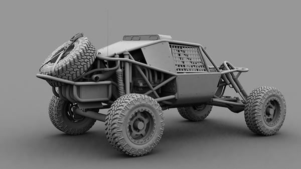 Nitto Dune Buggy On Behance
