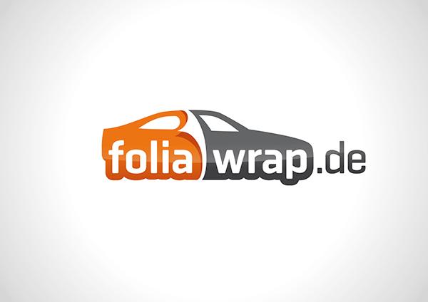 Foliawrap Logo Flyer Visitenkarte On Student Show