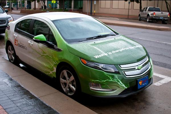Used Cars Wichita Ks >> Westar Energy ElectricGo electric vehicle wraps. on Behance