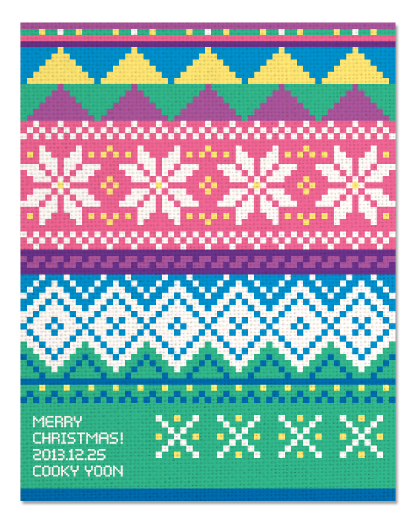 Knitting Pattern Png : Sweet sweater christmas card on behance