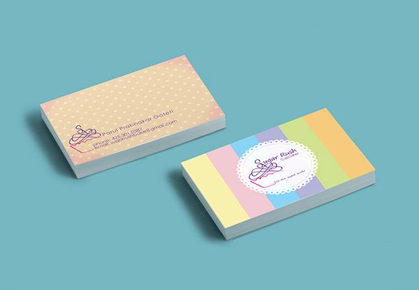 Sugar rush business card on student show colourmoves